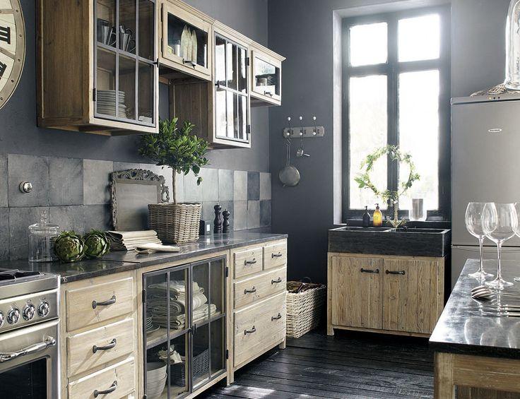 meubles cuisine copenhague maison du monde cuisine. Black Bedroom Furniture Sets. Home Design Ideas