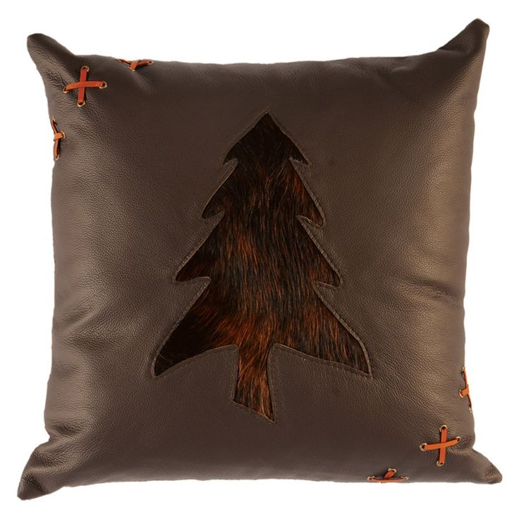 Wooded River Cabin Bear WD1948FB Decorative Pillow - WD1948FB