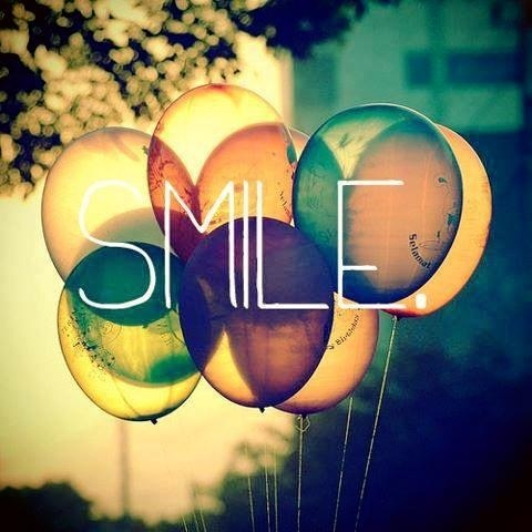Smile. It's that simple