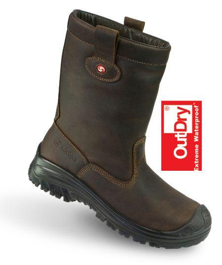 BLIJ word ik van deze stoere stappers! Voor bij de paarden en lekkere wandelingen altijd warme voeten! - Sixton Peak outdoor laarzen -air plus 3D- bruin OUTDRY-