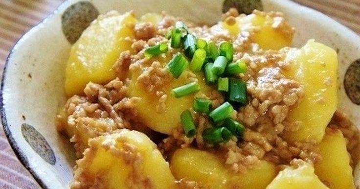 ♥レポ900件&本掲載感謝♥ MYレシピの鶏そぼろあんが美味しい!と 好評なので、じゃがいもと組み合わせてみました♡
