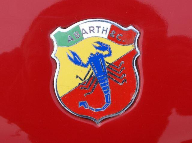 oude logo van Abarth Abarth Simca 2mila pic3