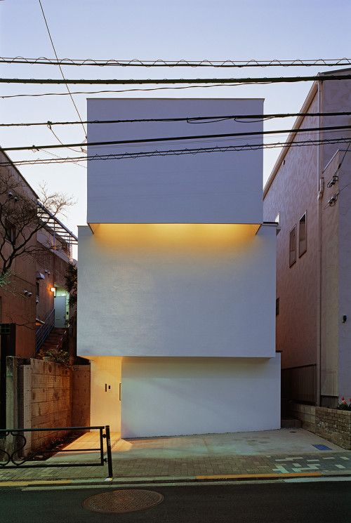 OBI-House. Japanese MinimalismReinforced ConcreteDesign Interiors Architecture ...