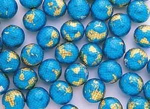 milk chocolate globes :)