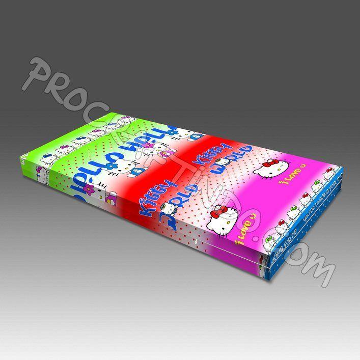 Sarung Kasur Busa Hello Kitty. All Size Now Available dengan pilihan ketebalan 15 dan 20cm. Bahan Katun! Lebih tebal dari material regular sarung kasur busa yang biasa beredar di pasar Kasur atau Spon Busa. Info dan pemesanan bisa melalui pin bbm 2B537F42.