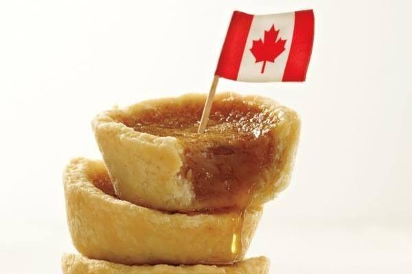 Canada maple tart