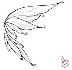 fairy wings drawing - Google Search