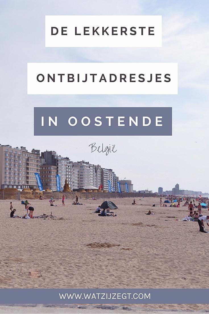 Dit zijn een paar van de lekkerste ontbijtadresjes in Oostende // breakfast or brunch in Ostend, Belgium