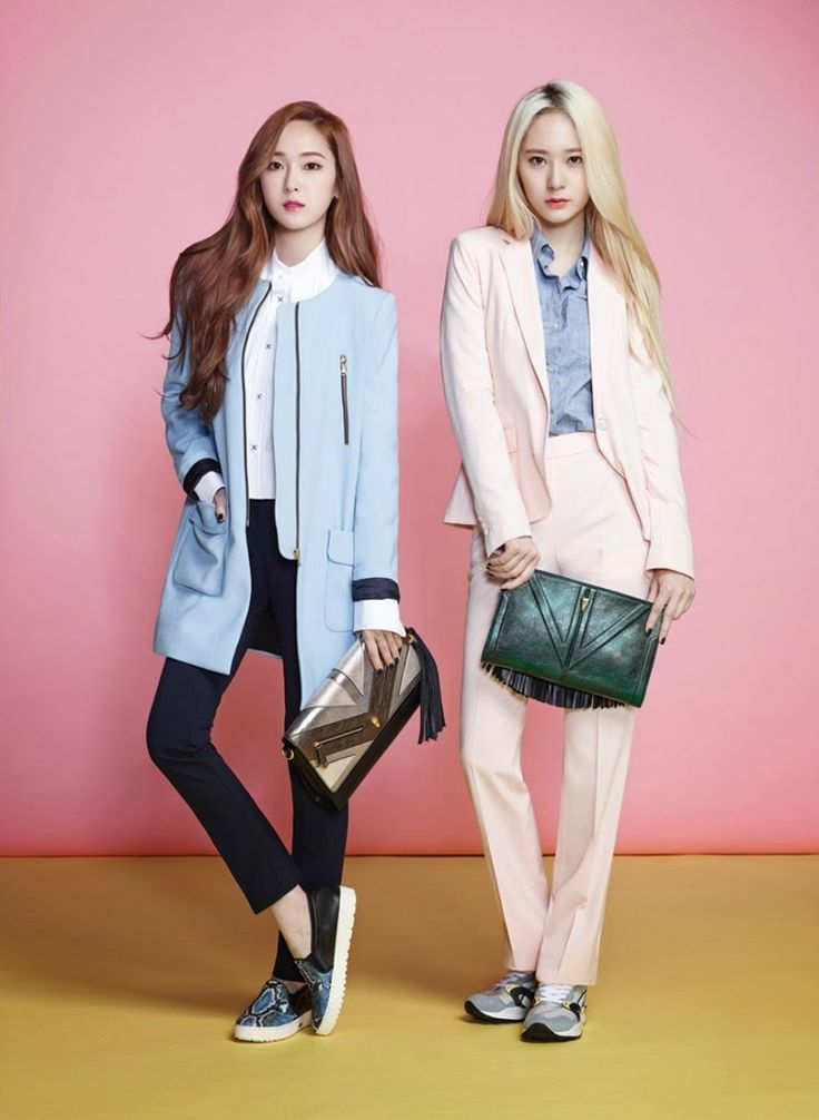 SNSD Jessica and Fx Krystal