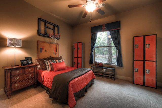 76 Inspiring Bedroom Design Ideas For Boy Who Loves Basketball Roundecor Basketball Room Amazing Bedroom Designs Boys Basketball Room