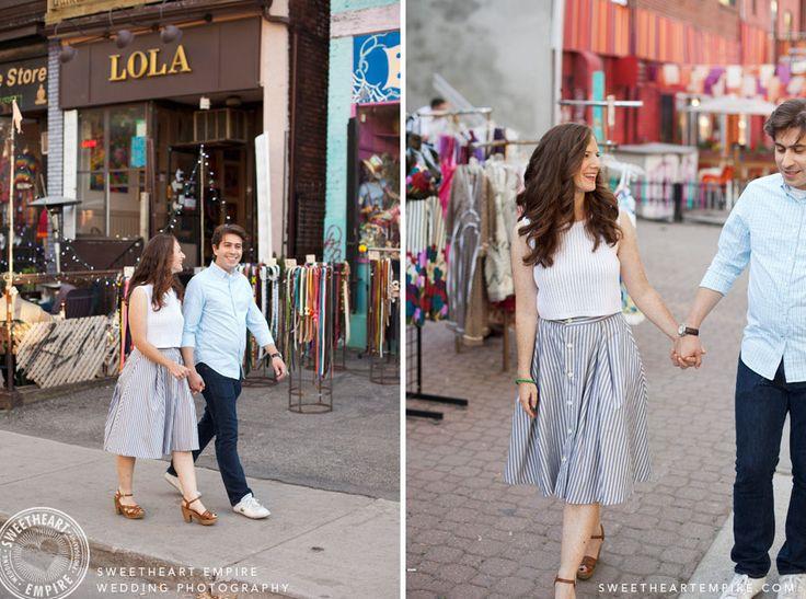 Engagement Photos Kensington Market
