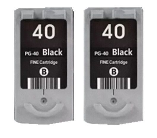 2x BK For Canon PG40 Ink Cartridge for Canon PIXMA IP2500 IP2600 MX300 MX310 MP160 MP140 MP150 Ink jet printer free shipping