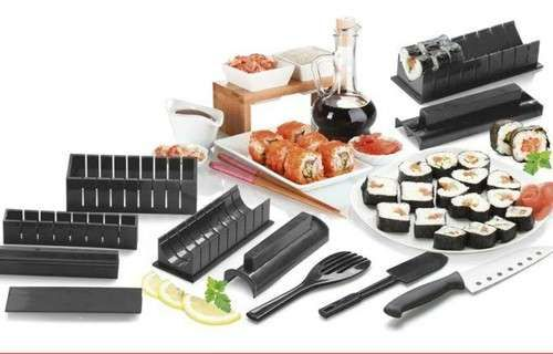 10 pcs Ultimate Sushi Maker Kit