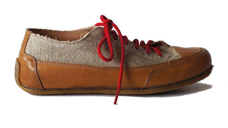 Paride summer shoes natural leather & organic linen