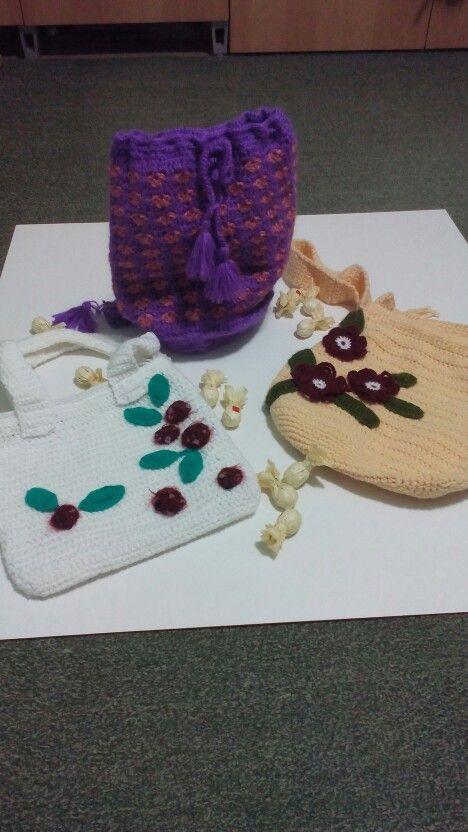 Bag crochet for my dear sister in-law and grandchildren