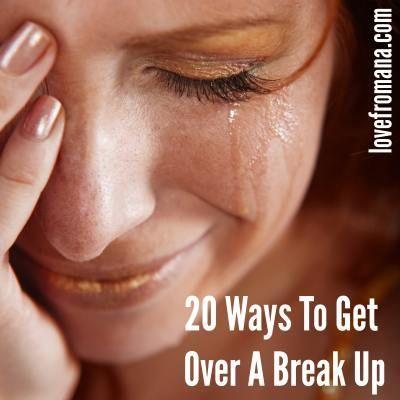 best ways get over relationship breakup