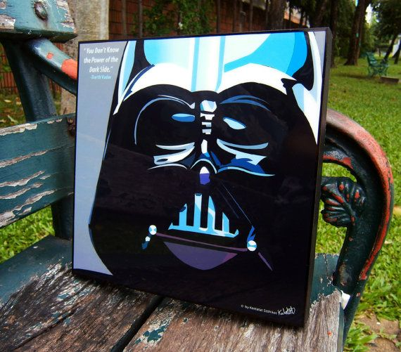 Star Wars Darth Vader Pop Art Wall Decor Wall Art On