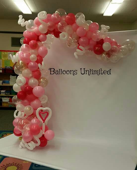 1000 images about balloon creations on pinterest for Balloon arch no helium