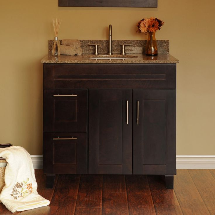 In Stock Kitchens Has The Best Discount RTA Java Vanity Bathroom Cabinets.  For More Info On The Best Discount Rta Java Vanity Bathroom Cabinets Visit  Our ...