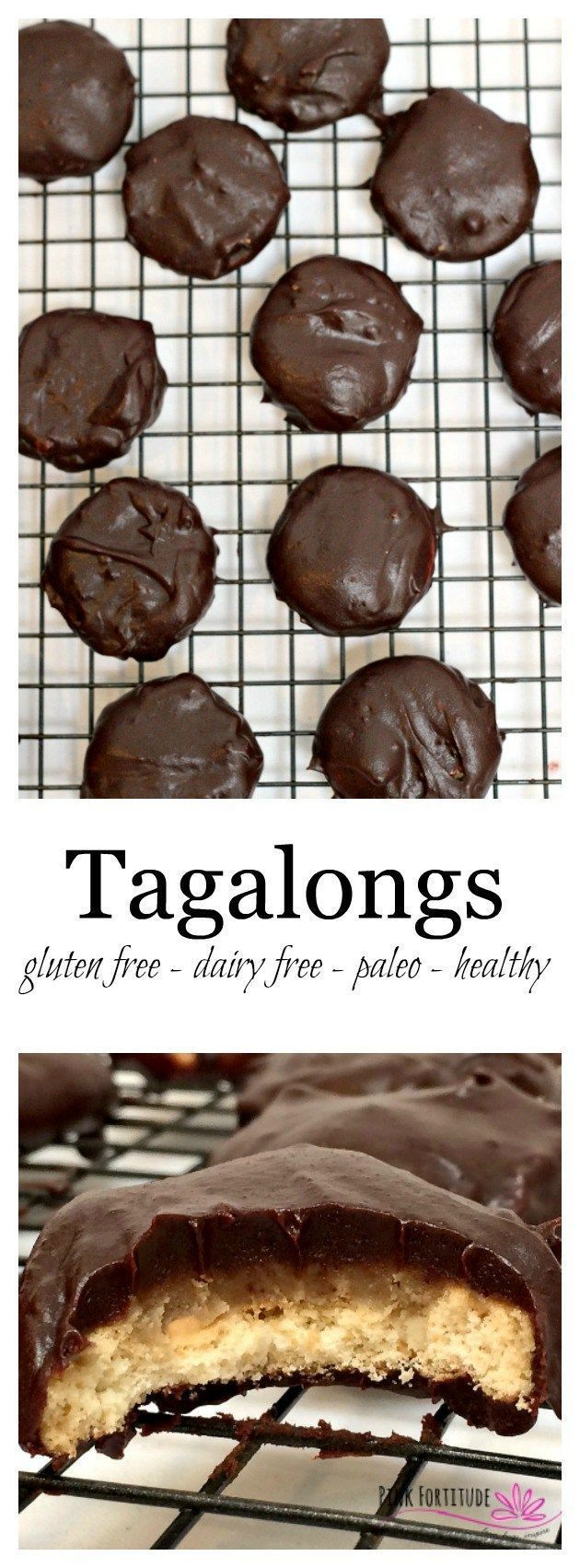 Back in the day, I counted the moments until Girl Scout cookies arrived. Thin Mints were my jam... but Tagalongs were my kryptonite. If you enjoy the peanut buttery and chocolate goodness as much as I do, you will love this grown up version which is glute