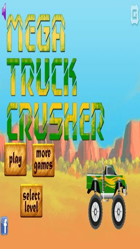 Mega Truck Crusher is a radical game where you're a monster car driver.In this game you have to destroy other cars and climb steep roads that end suddenly and you can not let the car roll over.  http://Mobogenie.com