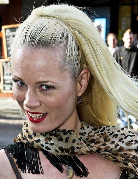 Monique Sluyter 27-07-1967 Nederlands model en