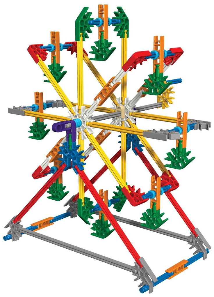 knex oh my brothers and i built so many awesome things!!!