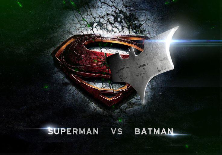 Superman Versus Batman #ManOfSteel2 #SupermanVersusBatman #BatmanvsSuperman