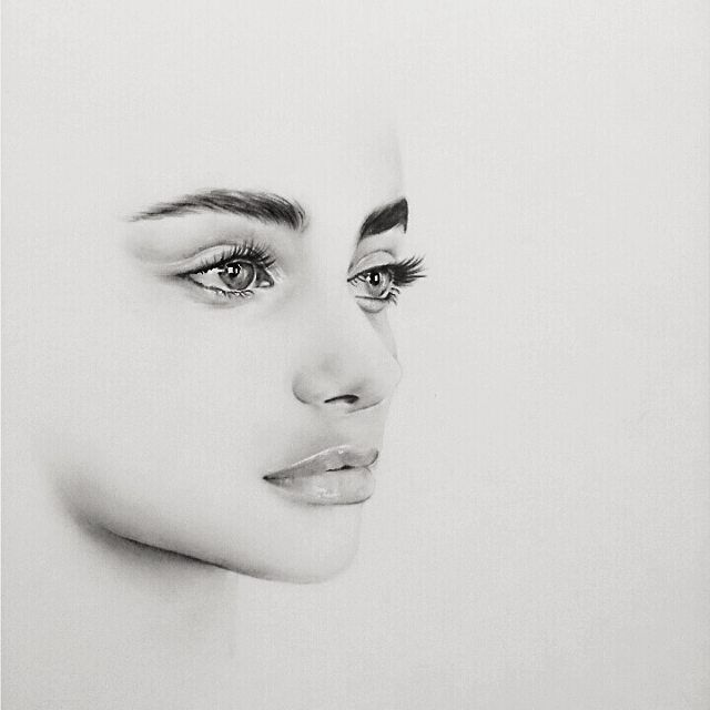Pencil Portrait Mastery - ➶pinterest: TypicalBieber➴ - Discover The Secrets Of Drawing Realistic Pencil Portraits