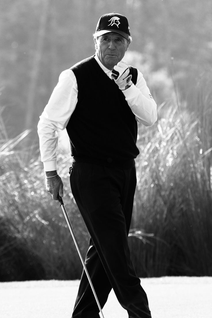 Gary Player (1935-?) South African golfing legend and philanthropist who has won 160-plus tournaments worldwide, including 9 Grand Slam tournaments. He was inducted into the World Golf Hall of Fame in 1974.