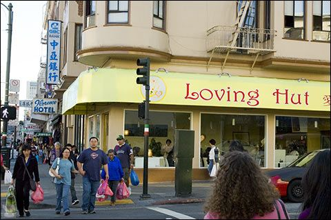 Best all vegan Chinese food!! The Loving Hut - SF and Pittsburgh