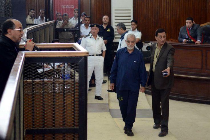 Egito condena líder da Irmandade Muçulmana à prisão perpétua | #Cairo, #IrmandadeMuçulmana, #Mesquita, #MohamedBadie, #MohamedMorsi, #Terrorismo