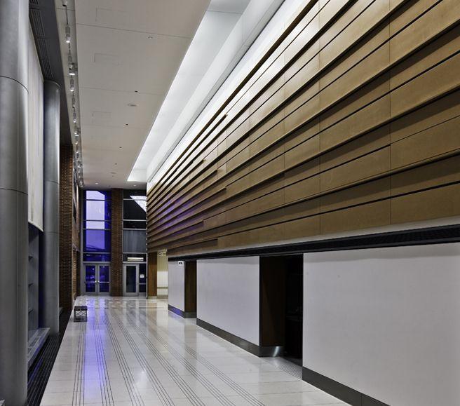 lobby lighting | Healthcare | VA Hospital-Jesse Brown Medical Center | Schuler Shook