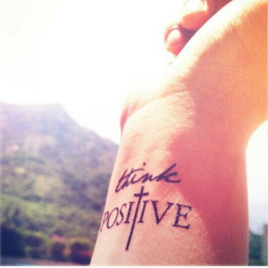 think positive tattoo - 480×480