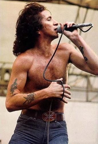 Bon Scott - AC/DC front man. Alcohol Choked on his vomit while unconscious Feb. 1980 at age 33