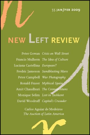 #NLR: New Left Review 55, January-February 2009 Fredric Jameson on Christoph Henning, Philosophie nach Marx. Austerities of a German rejection of social philosophy, in the name of the Moor. FREDRIC JAMESON: SANDBLASTING MARX