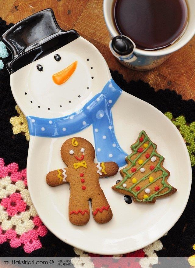 Zencefilli Tarçınlı Yeni Yıl Kurabiyesi - Tarifin püf noktaları, binlerce yemek tarifi ve daha fazlası...