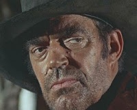 "A quintessential Jack Elam look, from ""Once Upon a Time in the West."""