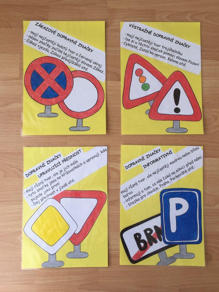 Druhy dopravních značek