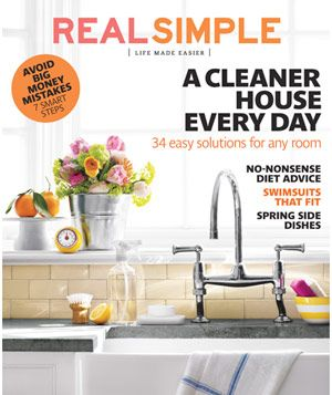 May 2012Worth Reading, Real Simple Magazines, Cleaners House, Ideas, Favorite Magazines, Book Worth, Subway Tile, Magazines Subscription, Realsimple