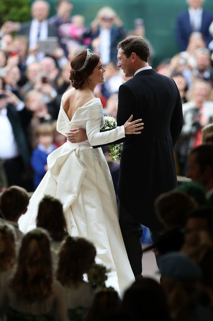All In The Eyes With Images Eugenie Wedding Princess Eugenie