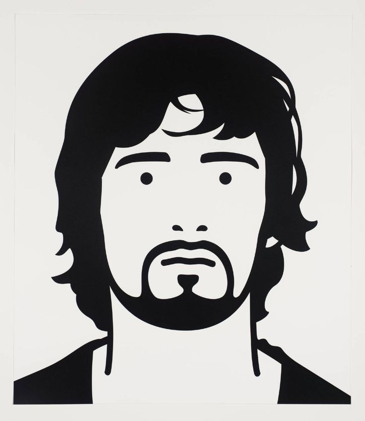 Julian Opie 'Gary, popstar', 1998–9 Screenprint on paper Gary, popstar is one of a series of six screenprints Opie produced in 1998-9. The prints were made from hand-cut stencils based on photographs that Opie altered on a computer. He began making portraits derived from photographs of real individuals, pared down to a series of lines and blocks of colour, in 1997.