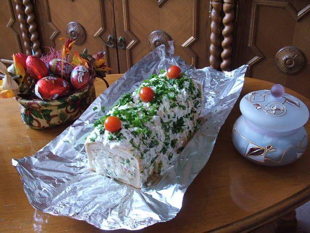 Húsvéti töltött toast kenyér