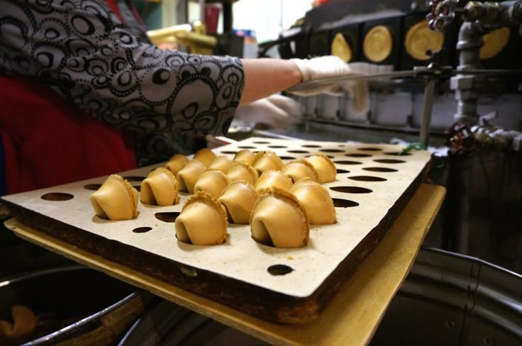 Visit a real fortune cookie factory where you can watch cookies fresh-pressed on griddles and shaped right in front of you. Bring home cookie souvenirs with a custom message.