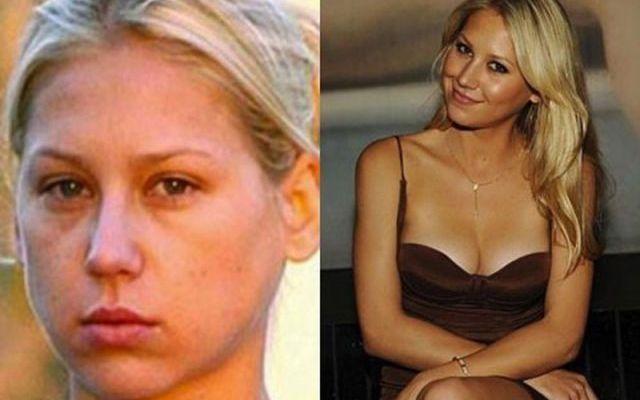 Ecco Le star prima e dopo il trucco [foto] - #Gossip