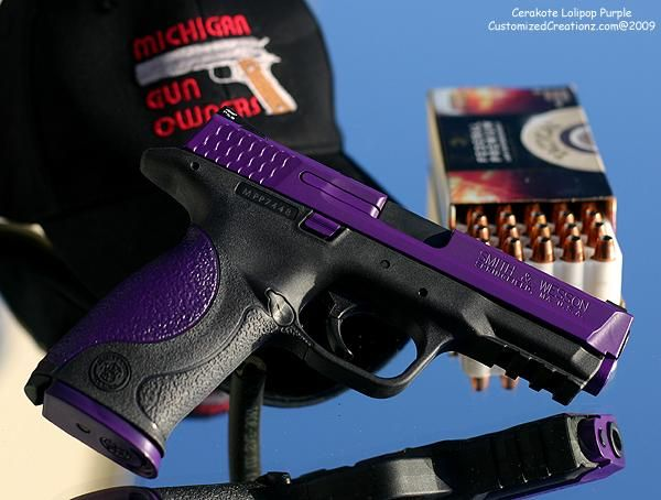 womens guns purple | Thread: Pics of my refinished P229 Elite and a review of the ...