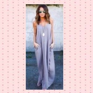 Lavender maxi, Large only one left. Price: $30 Size: L.....https://poshmark.com/listing/Gray-Lavender-maxi-Large-only-one-left-590d122e7f0a051d7e01db9d