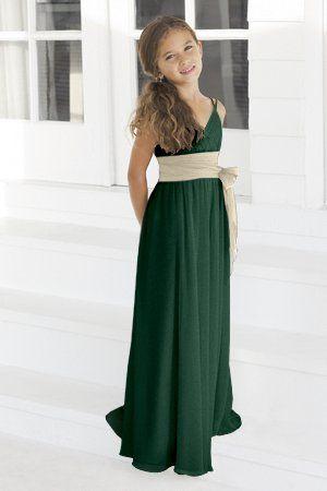 Charmeuse Лук, бретельках, V-образным вырезом Стиль 45 подружек невесты платье от Alexia Designs