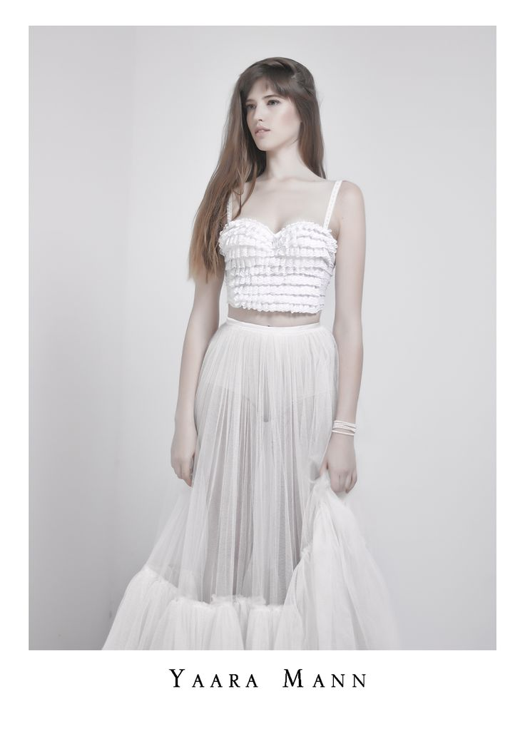 """Oceane"" wedding gown from Yaara Mann's collection 2014 www.yaaramann.com"