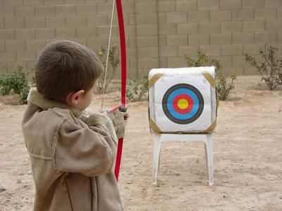 Archery Games for Children http://www.livestrong.com/article/210429-archery-games-for-children/